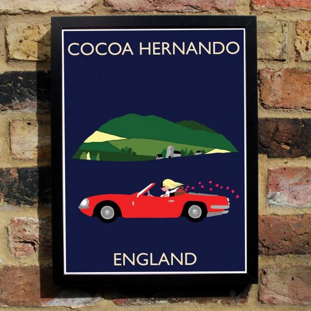Cocoa Hernando Poster England