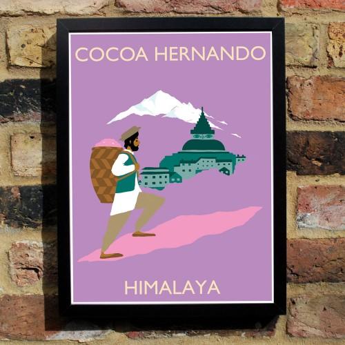 Cocoa Hernando Poster Himalaya