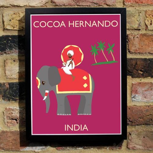 Cocoa Hernando Poster India